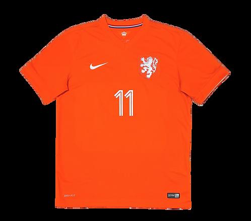 Holanda 2014 Home #11 ROBBEN