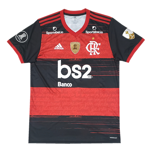 Flamengo 2020 Home Bruno Henrique Patches