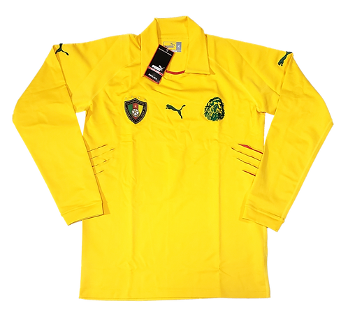 Camarões 2004 GK Amarela