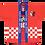 Thumbnail: Kashima Antlers 1997 Home de Jogo #10 Bismarck