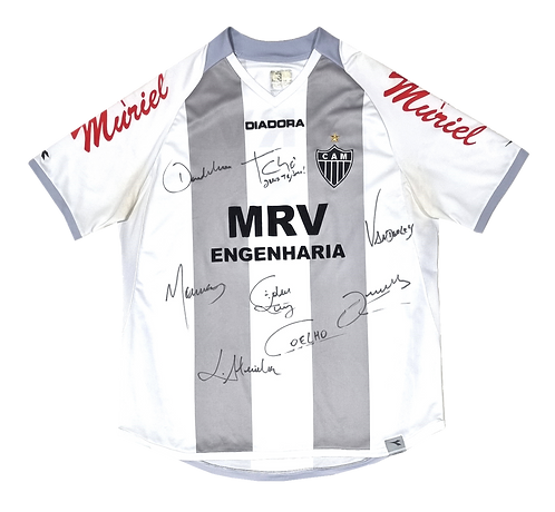 Atlético MG 2007 Away Autografada