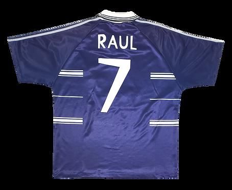 Real Madrid 1998 Away #7 Raul