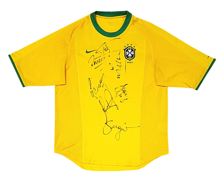 Brasil 2000 Home Autografada