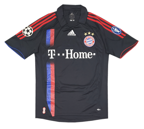 Bayern Munique 2007 Away Patches