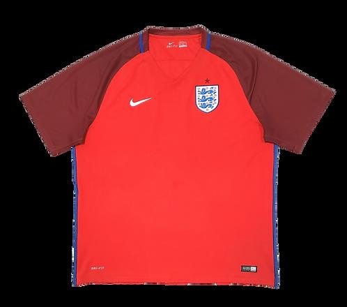 Inglaterra 2016 Away