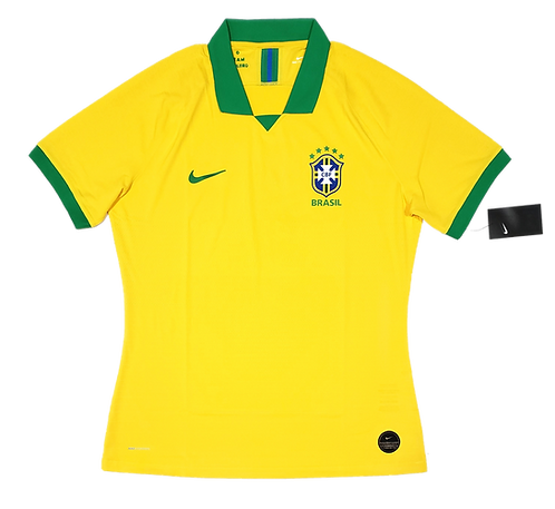 Brasil 2019 Home Jogador Vaporknit