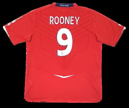 Inglaterra 2008 Away Rooney