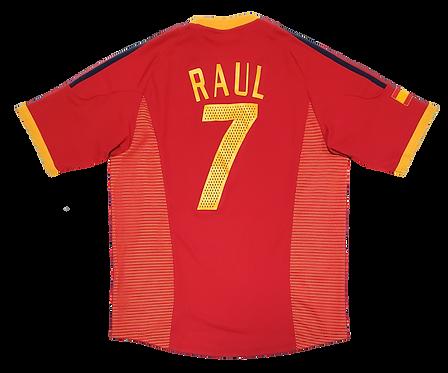 Espanha 2002 Home #7 Raul