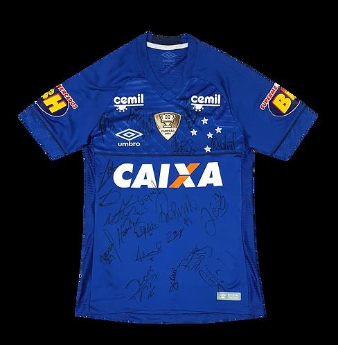 Cruzeiro 2018 Home #29 L. ROMERO Autografada