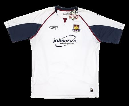 West Ham 2005 Away