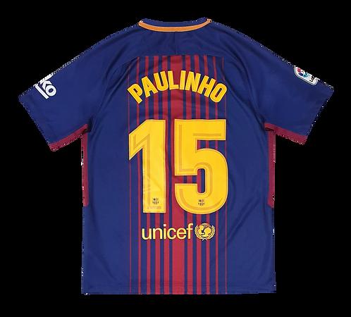 Barcelona 2017 Home #15 Paulinho