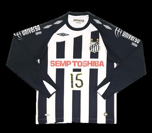 Santos 2008 Away de Jogo #15