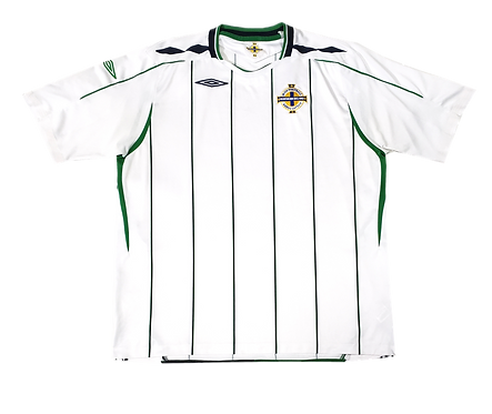 Irlanda do Norte 2008 Away