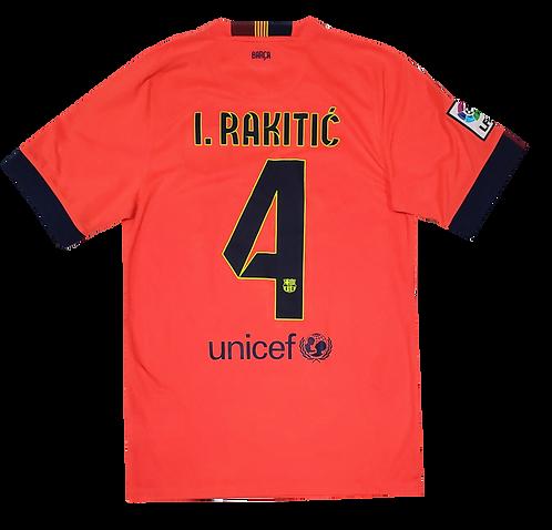 Barcelona 2014 Away #4 Rakitic