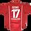 Thumbnail: Kaiserslautern 1999 Home de Jogo #17 Ratinho