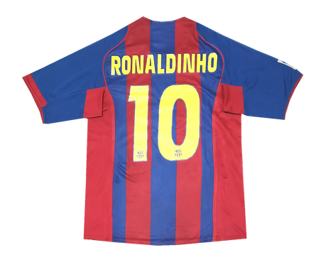 Barcelona 2004 Home Ronaldinho