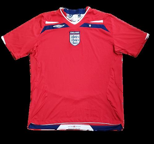 Inglaterra 2008 Away
