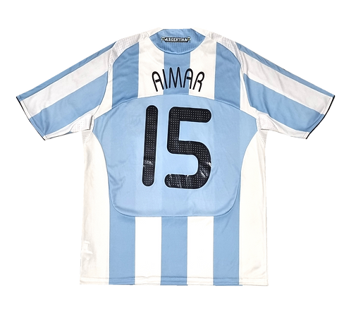 Argentina 2008 Home Aimar