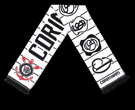 Cachecol Corinthians Escudos
