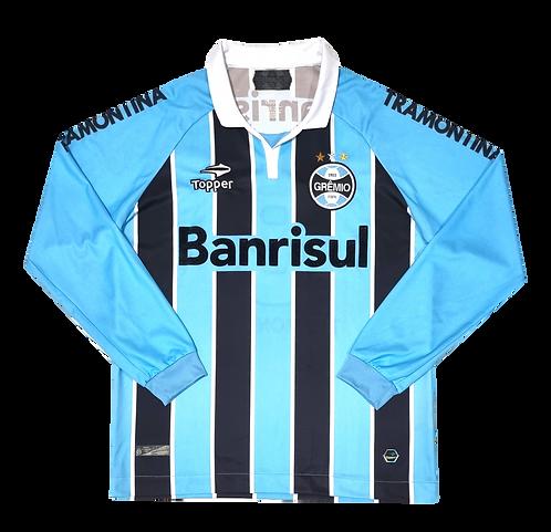 Grêmio 2012 Home Mangas Longas