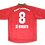 Thumbnail: Bayer Leverkusen 1998 Home de Jogo #8 Zé Roberto