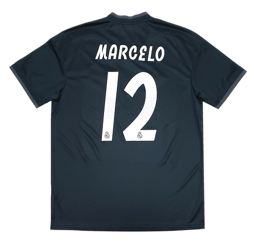 Real Madrid 2018 Away #12 Marcelo