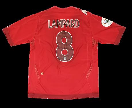 Inglaterra 2006 Away Lampard
