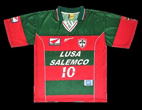 Portuguesa 1999 Home #10 de Jogo