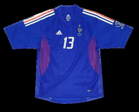 França 2002 Copa do Mundo Home #13 Silvestre