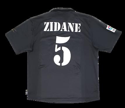 Real Madrid 2001 Away Zidane
