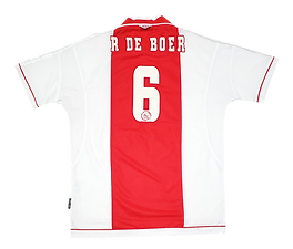 Ajax 1999 Home Ronald de Boer