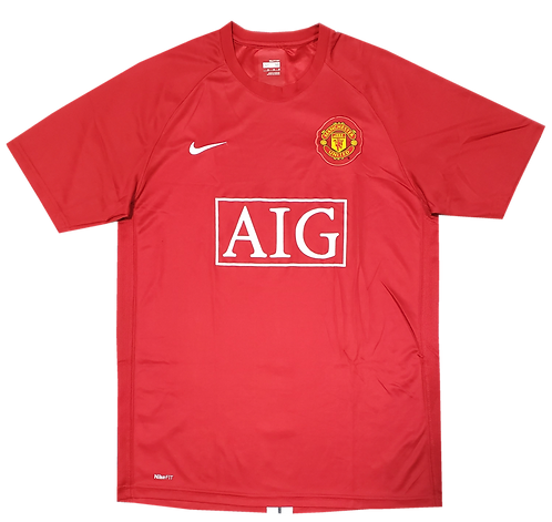 Manchester United 2007 Home