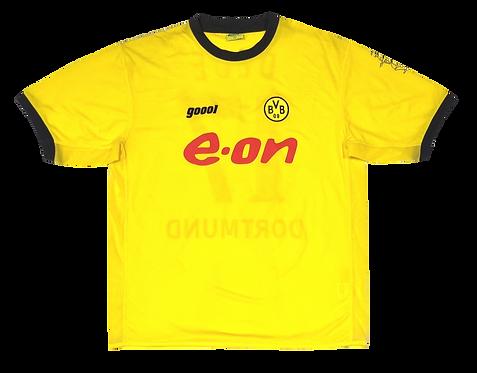 Borussia Dortmund 2003 Home #17 Dede