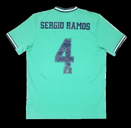 Real Madrid 2019 Third #4 Sergio Ramos