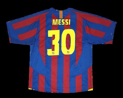 Barcelona 2005 Home Messi