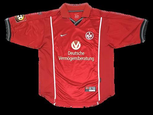 Kaiserslautern 1999 Home de Jogo #17 Ratinho