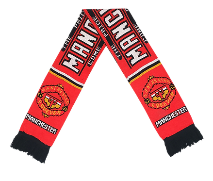 """Cachecol Manchester United """"Come On You Reds"""""""