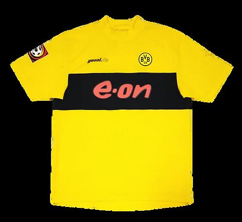 Borussia Dortmund 2002 Home #17 Dede