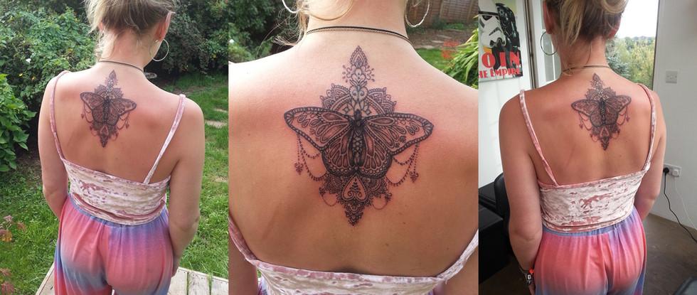 Mandala Butterfly Design