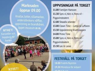 Piggsvinsteatern på Anderslövs marknad