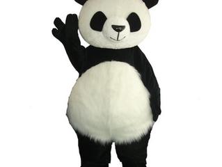 Panda blir maskot
