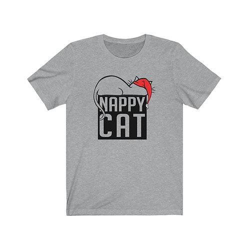NAPPY CAT 2 | UNISEX JERSEY T-SHIRT