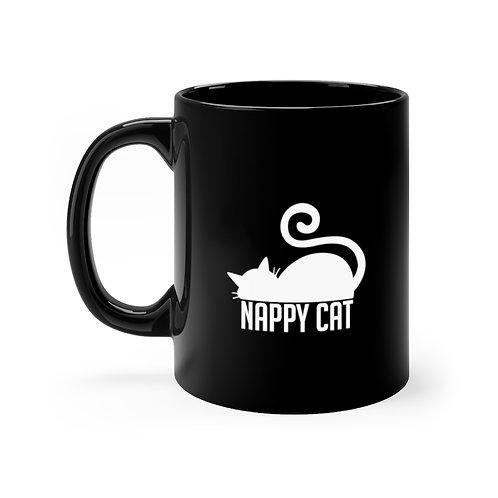 尿布貓 黑杯