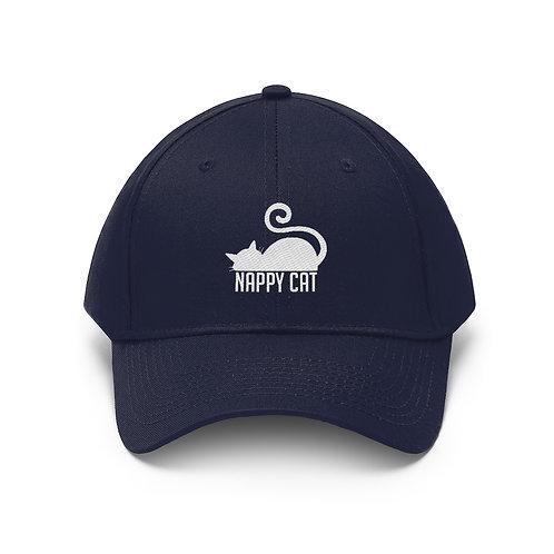 尿布貓 中性斜紋帽