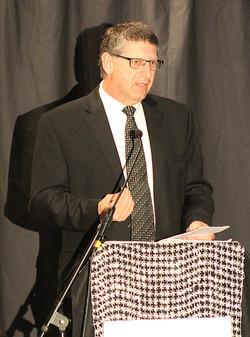 SR Mayor Kurt Hunstiger