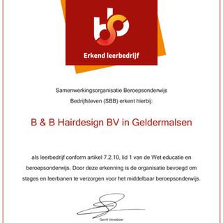 SBB erkend leerbedrijf