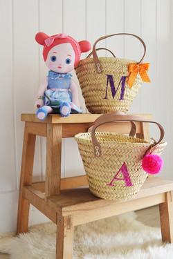 personalised children's baskets