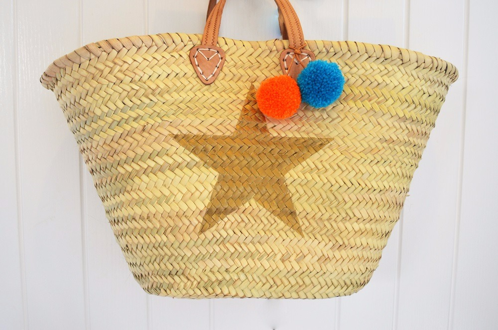 STAR BEACH BASKET
