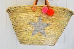 silver star beach basket
