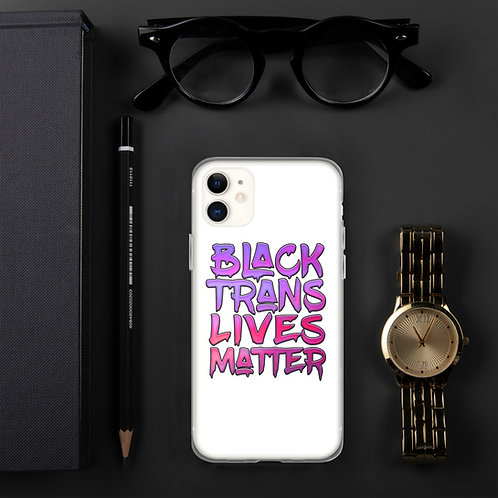 iPhone Case - Black Trans Lives Matter